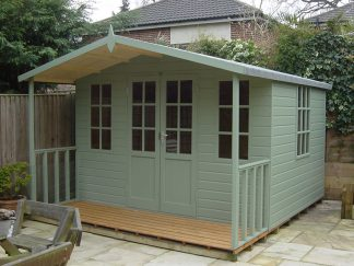Chilworth Summerhouse Shed 10 x 12