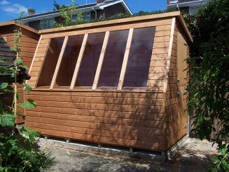 Solar Potting Shed 10 x 6