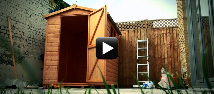 How To Put Up A Shed Titan Garden Buildings