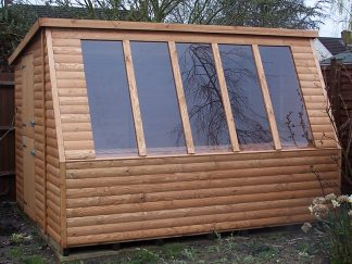 Solar Potting Shed 10 x 8