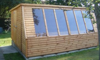 Solar Potting Shed 12 x 10
