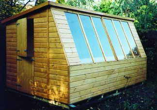Solar Potting Shed 12 x 8