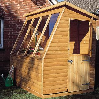 Solar Potting Shed 8 x 6