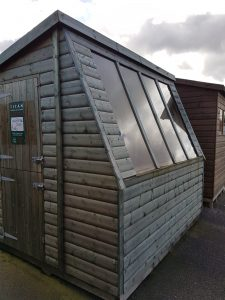 For Sale - 8x6 Solar Potting Shed - Ex Display