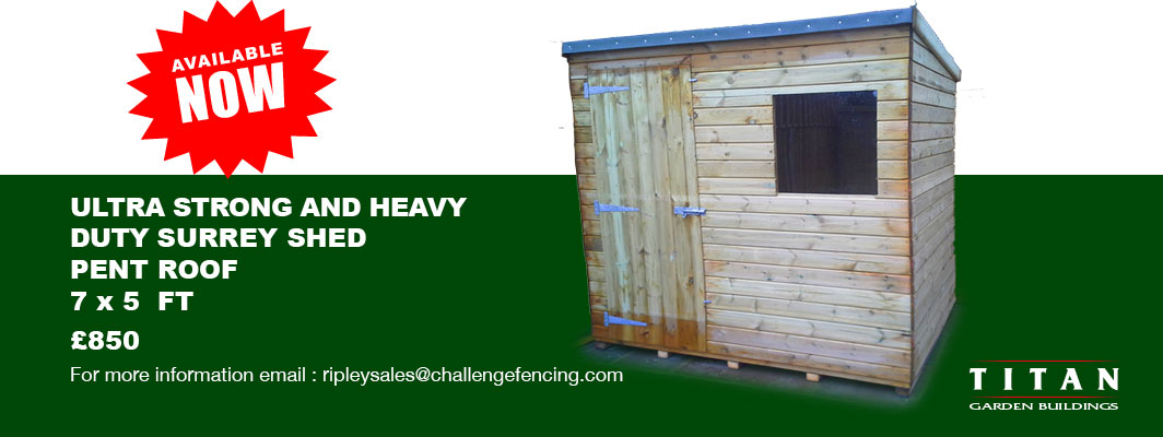 Ultra Strong Heavy Duty Surrey Shed